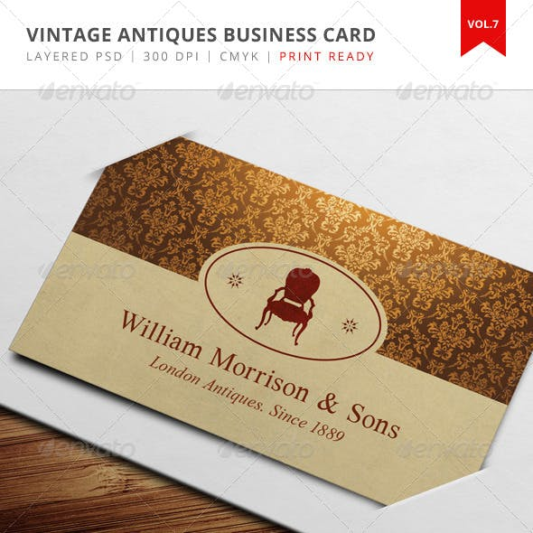 Brown Color of Business Cards