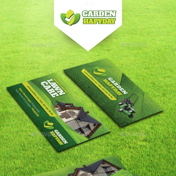 Garden Landscape Business Card Templates Free Download