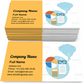 Headwork objects Business Card Template