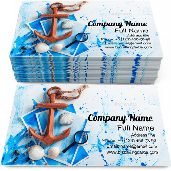 Sample of Pecan Pie calling card design for advertisements marketing ideas and promote bakery branding identity