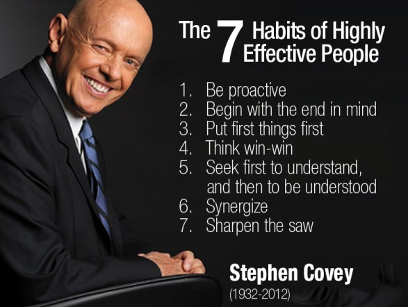 The Seven Habits of Highly Effective People