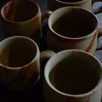 優しい持ち手のコーヒーカップ