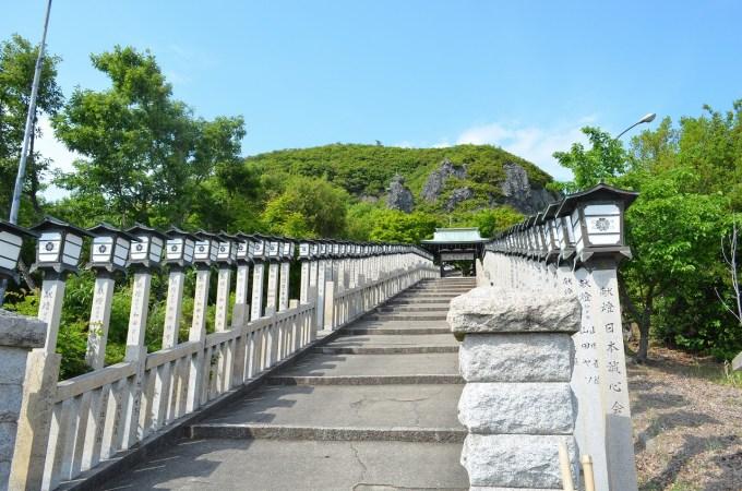 小豆島霊場第42番札所の長勝寺 奥之院西ノ瀧