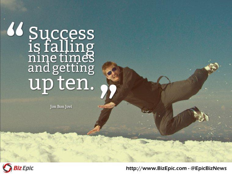 Success quote - Jon Bon Jovi