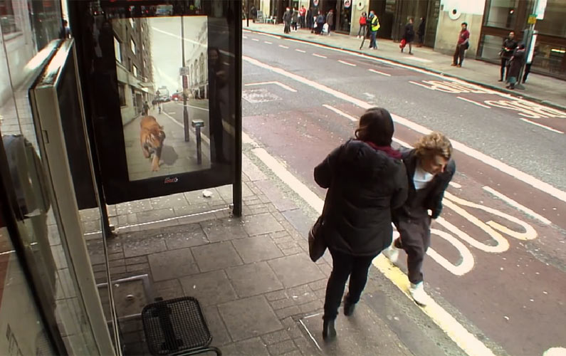 Unbelievable! Prowling Tiger and Alien Abduction in London