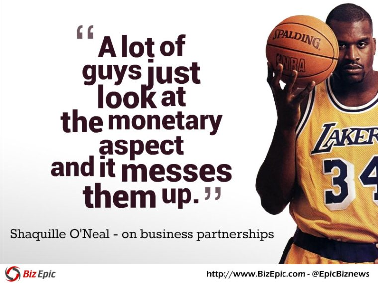 Shaq business quote
