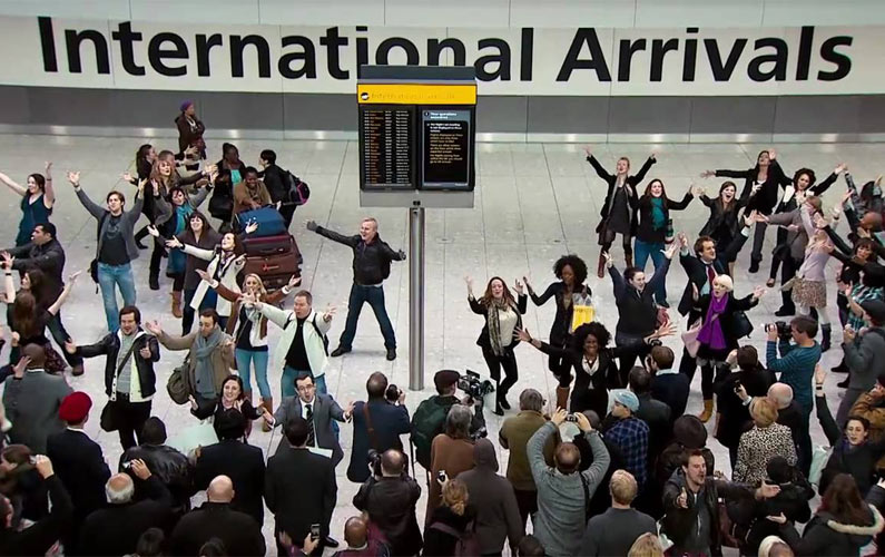 Welcomed by a Flash Mob is in My Bucket List. Here is Why