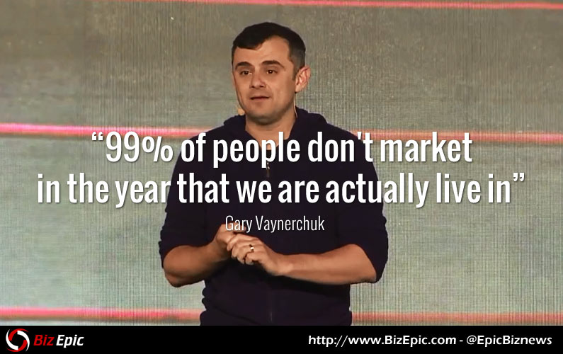 99 Percent of People Don't Market in The Year That We are Actually Live In