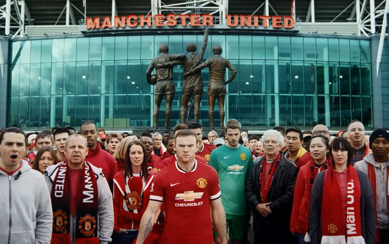Chevrolet Announces the Manchester United Sponsorship with Style