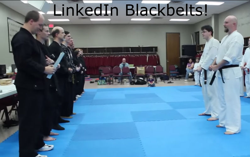 How to Become a Black Belt Recruiter on LinkedIn