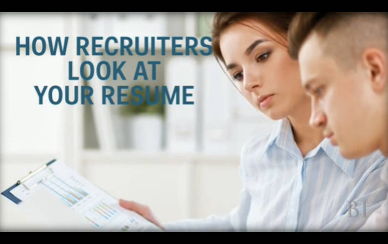 Resume Writing: Here is How to Awe your Recruiter in 6 Seconds Flat
