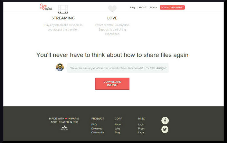 New P2P Service Allows Unlimited File Transfers at Lightning Fast Speeds — For Free!
