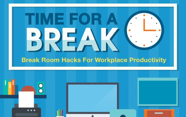 Break Room Hacks for Boosting Workplace Productivity (Infographic)