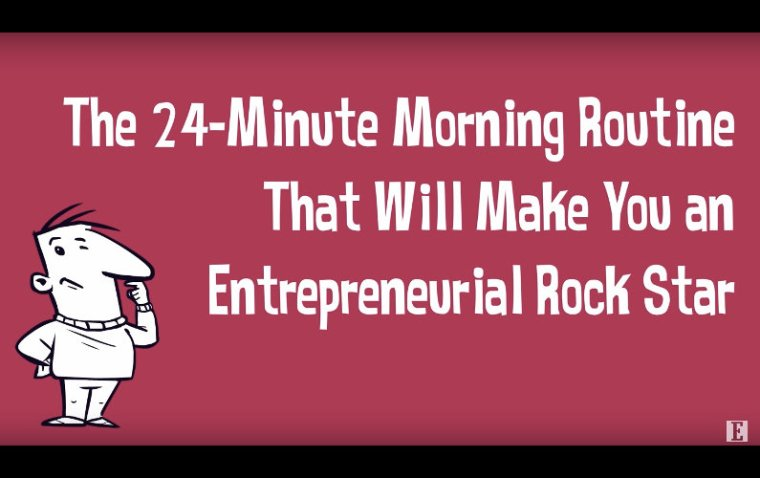 Very Simple 6-step Morning Routine that Brings Awesomeness to your Entrepreneurial Journey