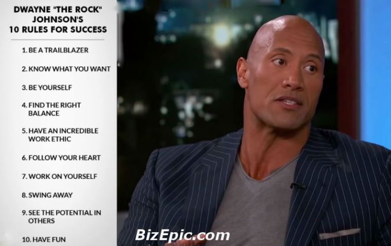 """Dwayne """"The Rock"""" Johnson's 10 Rules for Success"""