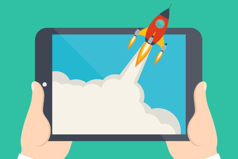 Online startup launch