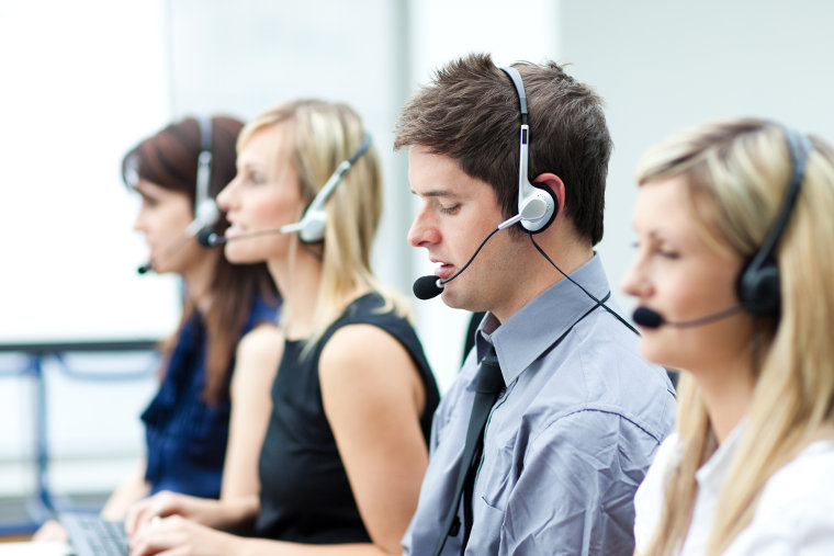 Professional call handling officers