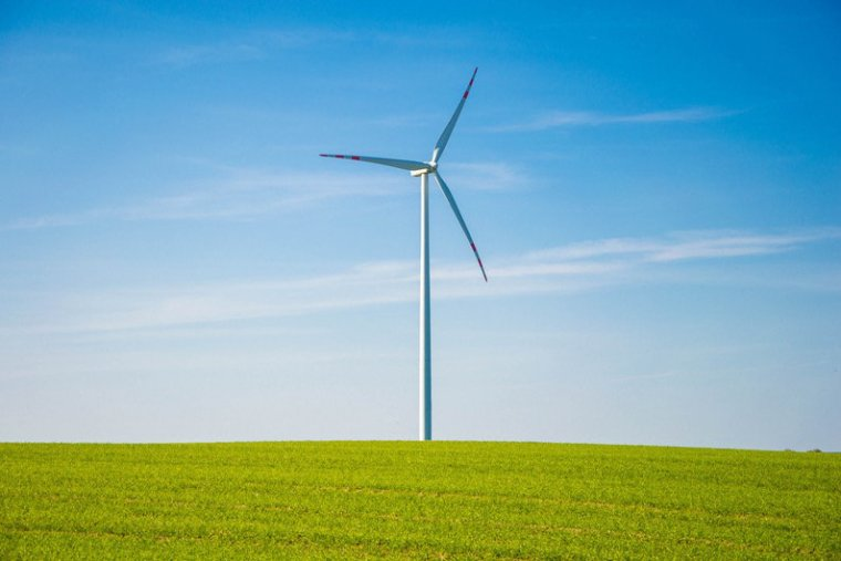 Green energy - wind turbine