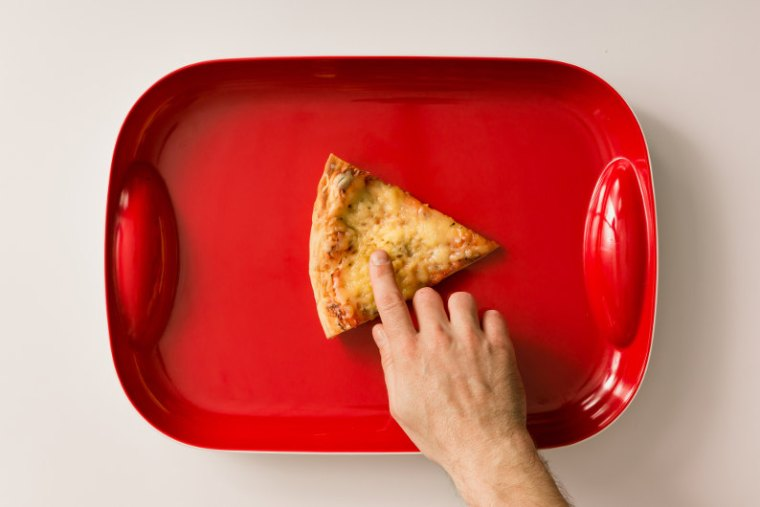 YouTube play button pizza