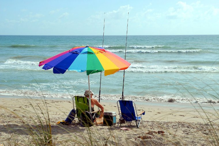 Retiring to the beach