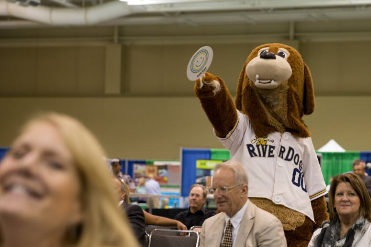 North Charleston business expo mascot