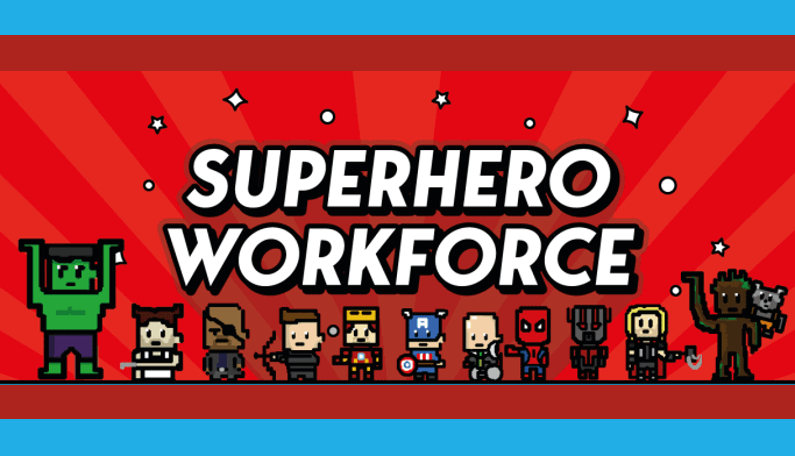 Infographic: What Skills Make a Good (Superhero) Workforce?