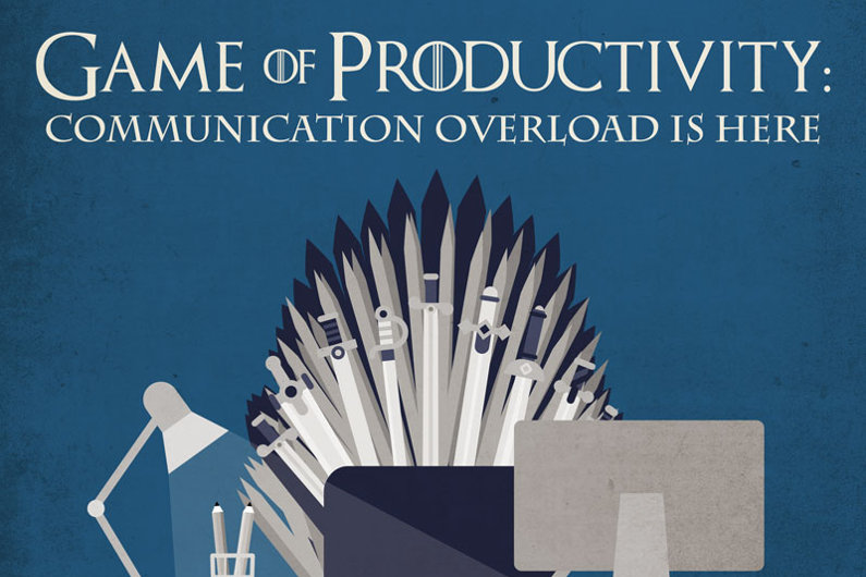How Too Much Communication Kills Productivity (Infographic)