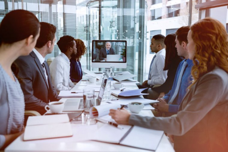 Using video conferencing technologies