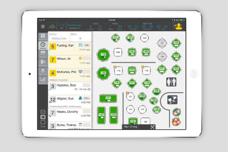DineTime app screenshot