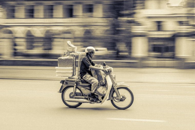 Food delivery guy