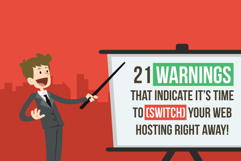 Do You Need a Reason to Switch Your Web Hosting? Here are 21 (Infographic)