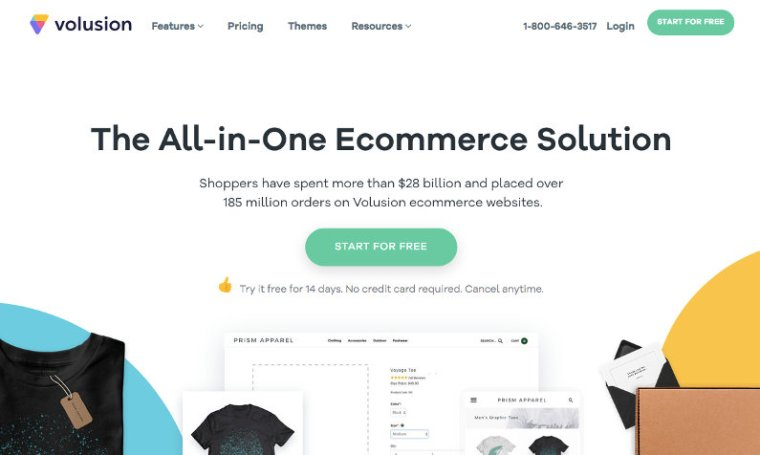 Volusion website