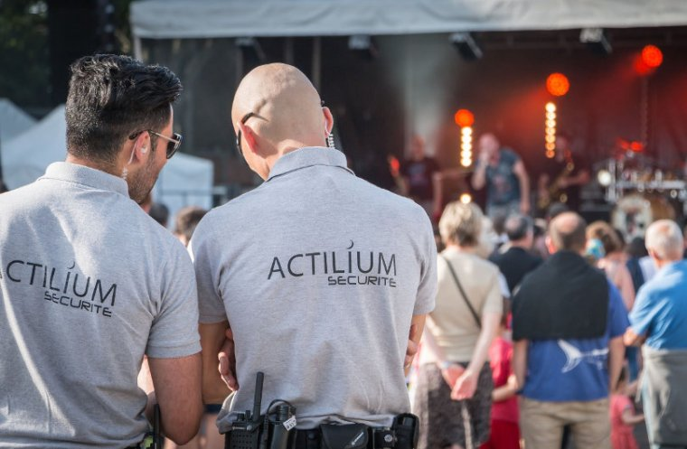 Event security personnel