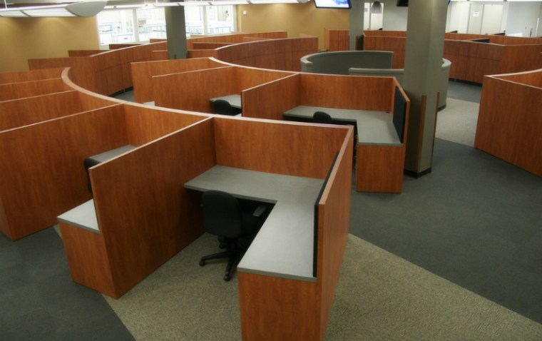 Buy new office furniture in bulk to save money on moving.