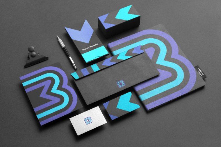 Branded stationery design