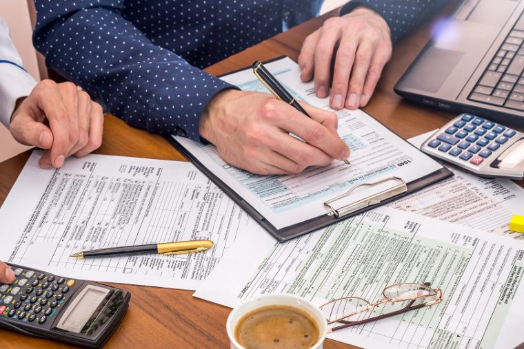 Preparing small business tax filing
