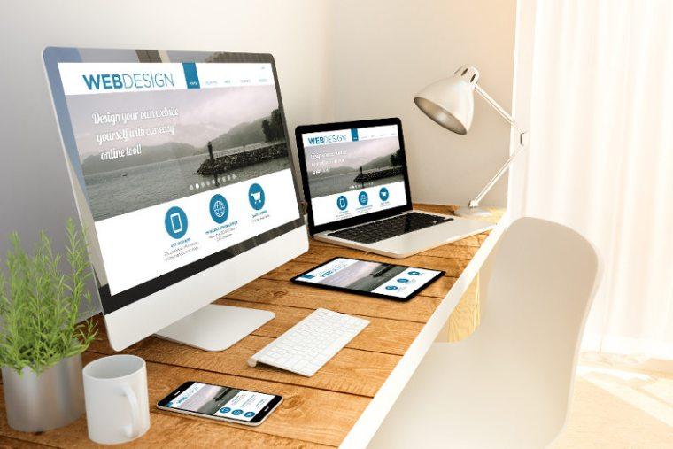 Customizable web design