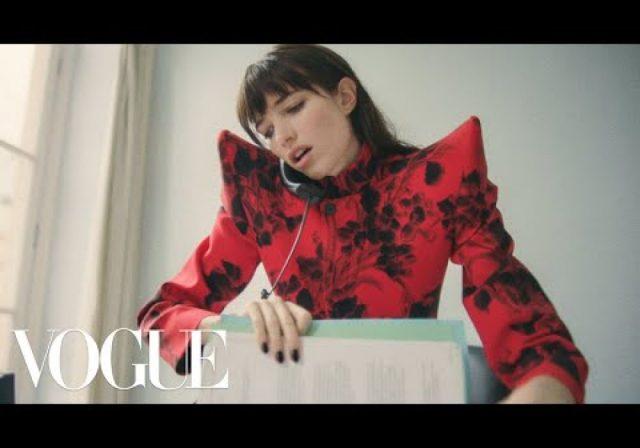 Model Grace Hartzel Changes Jobs   Vogue