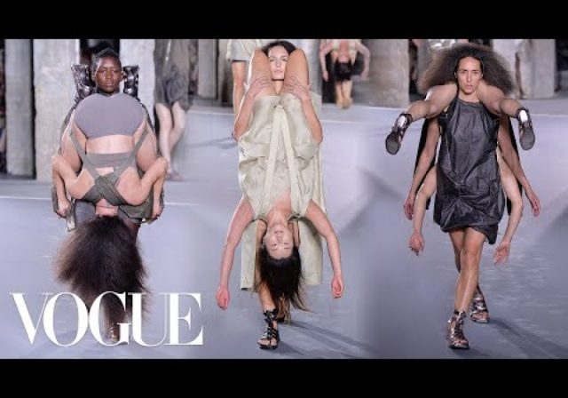 Why Rick Owens Spring 2016 Was the Best Show Ever | Vogue