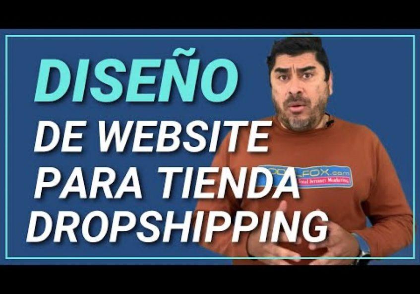 Diseño de Página Web para Tienda en Linea Dropshipping