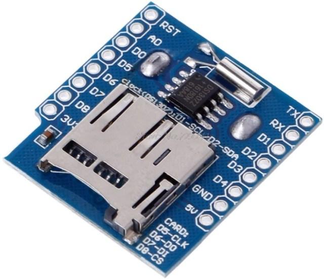 Wemos D1 mini & MH ET Live Minikit и RTC (datalogger) модули