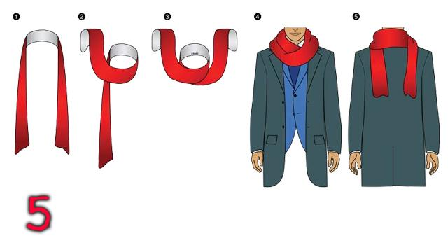 Muška klasika: Kako da nosite šal?
