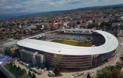 Finalizarea stadionului din Târgu Jiu, la două milioane de euro distanță