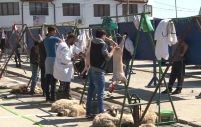 S-a deschis târgul de miei în Târgu Jiu