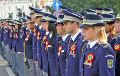 Probele fizice pentru admiterea în Poliție și Jandarmerie, modificate din nou