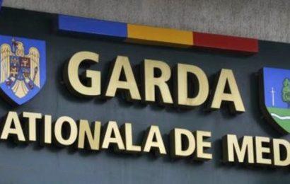 COMUNICAT DE PRESĂ, Garda Naţională de Mediu – Comisariatul Judeţean Gorj