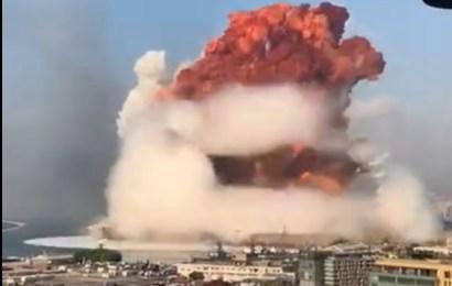 """Explozie puternică în Liban:""""E ca o apocalipsă""""!"""