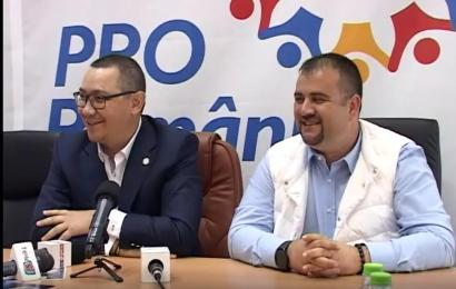 La startul campaniei electorale, demisii în Pro România!