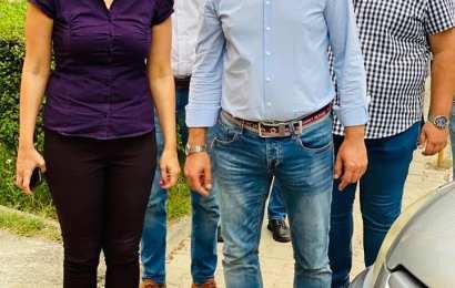 Ciprian Florescu, alături de târgujieni