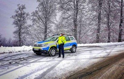 Anunțul Poliției Rutiere pentru șoferii gorjeni